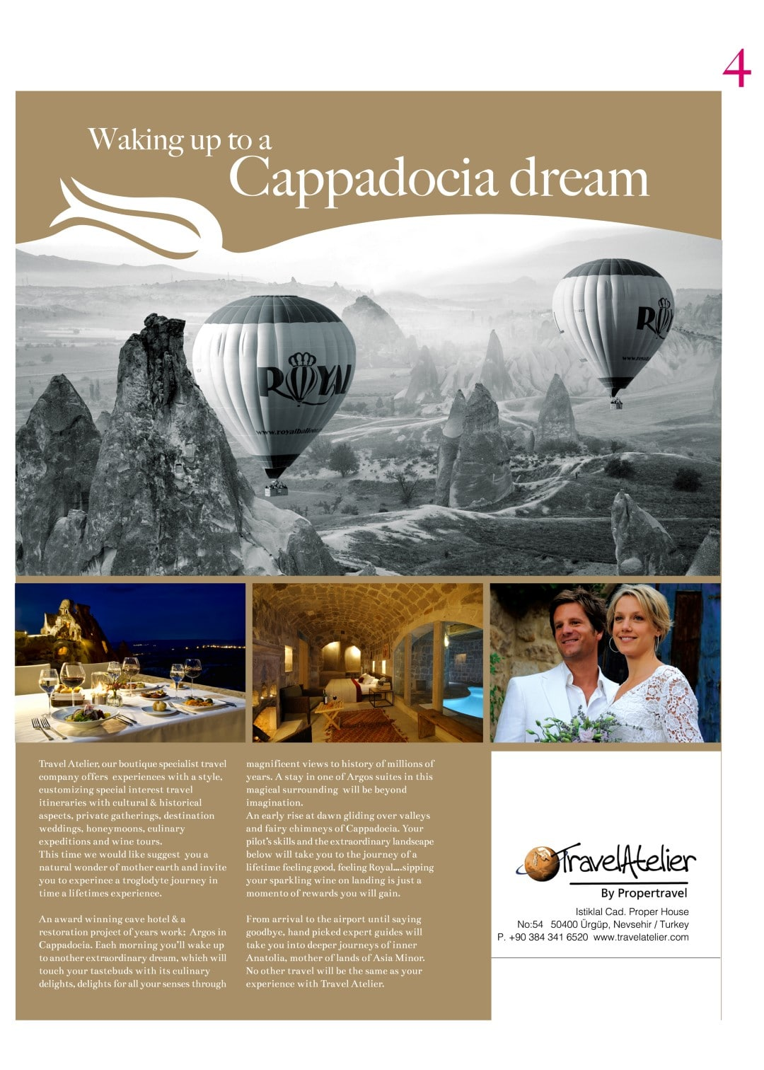 Waking up to a Cappadocia Dream