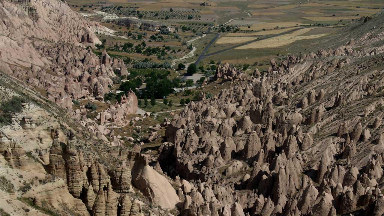 Zelve Open Air Museum Cappadocia
