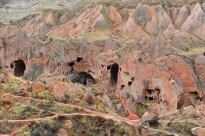 Zelve Open Museum Cappadocia