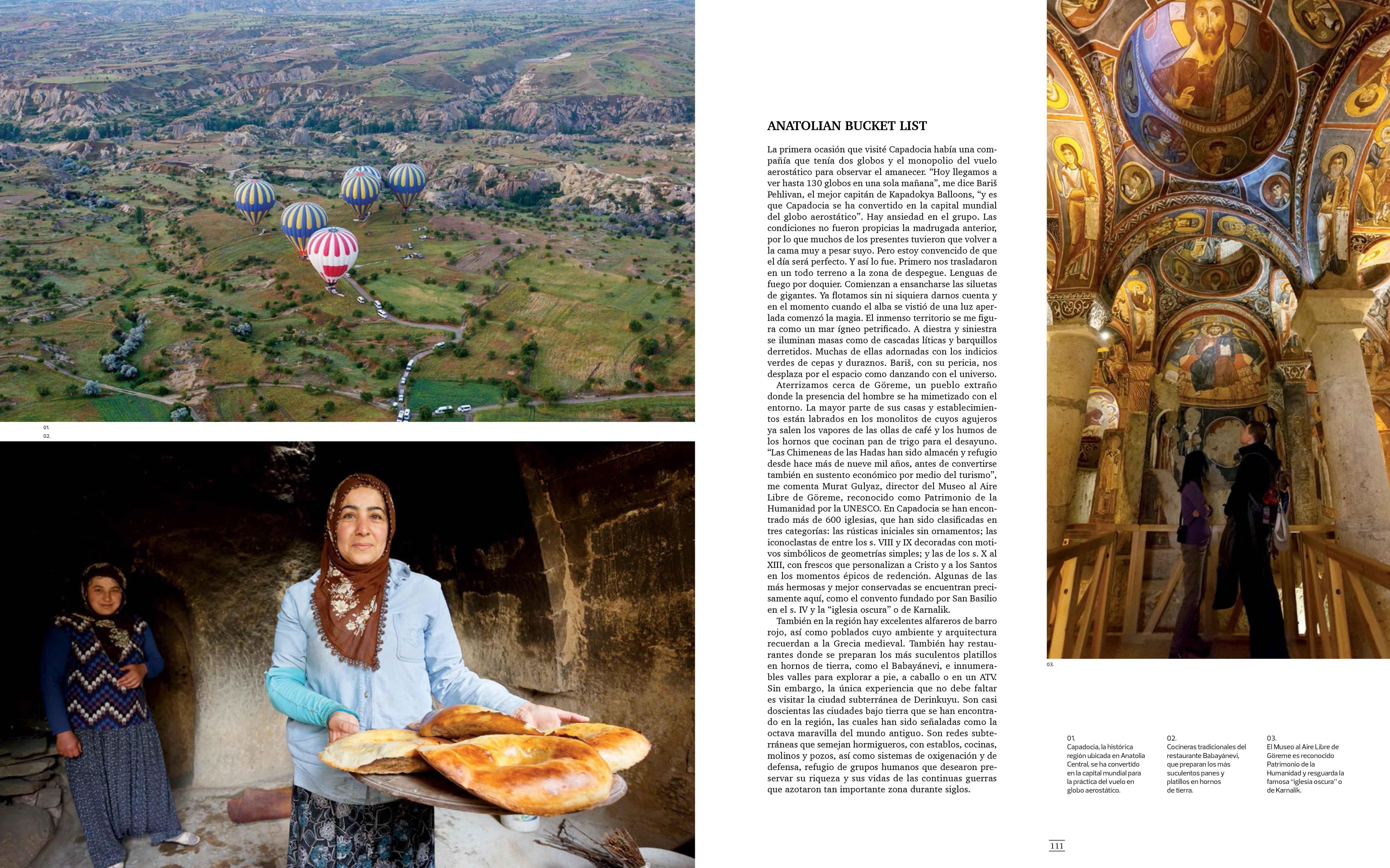 Luxury Travel Magazine Cappadocia