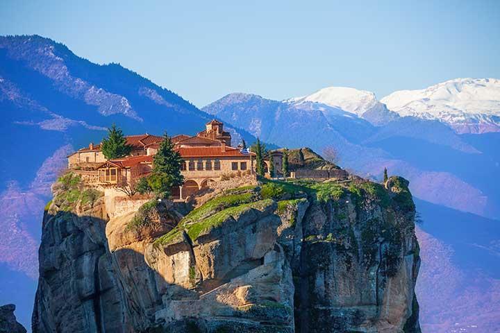 Monastery Holy Trinity Meteora Greece