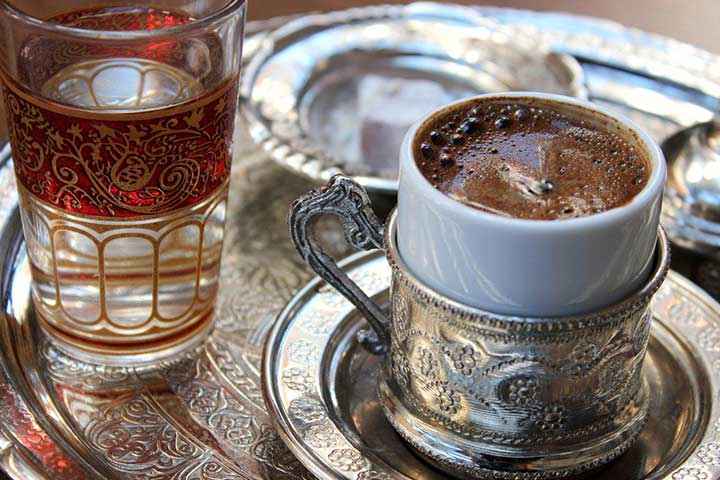 Turkish Coffee Culinary Art