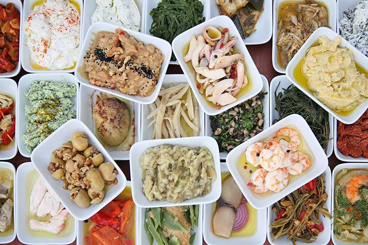 Turkish Food Mezzes