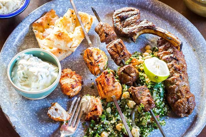 Turkish Food Mixed Grill Meat