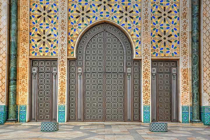 Morocco Tiles Door