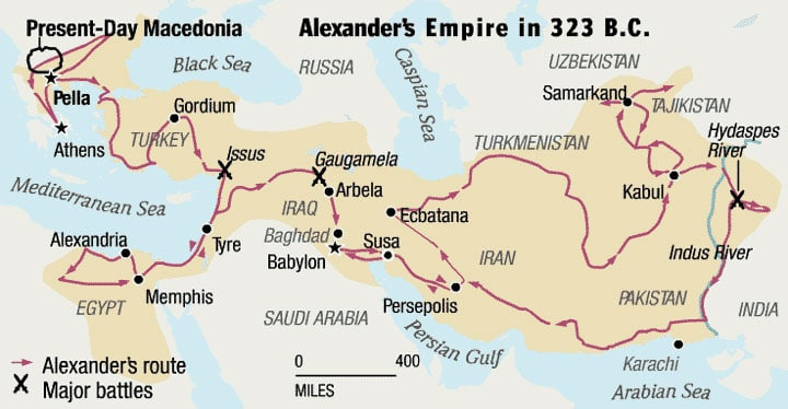 alexander-the-great-route-map