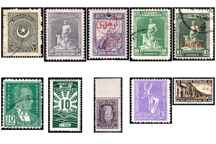 Turkish Stamp History