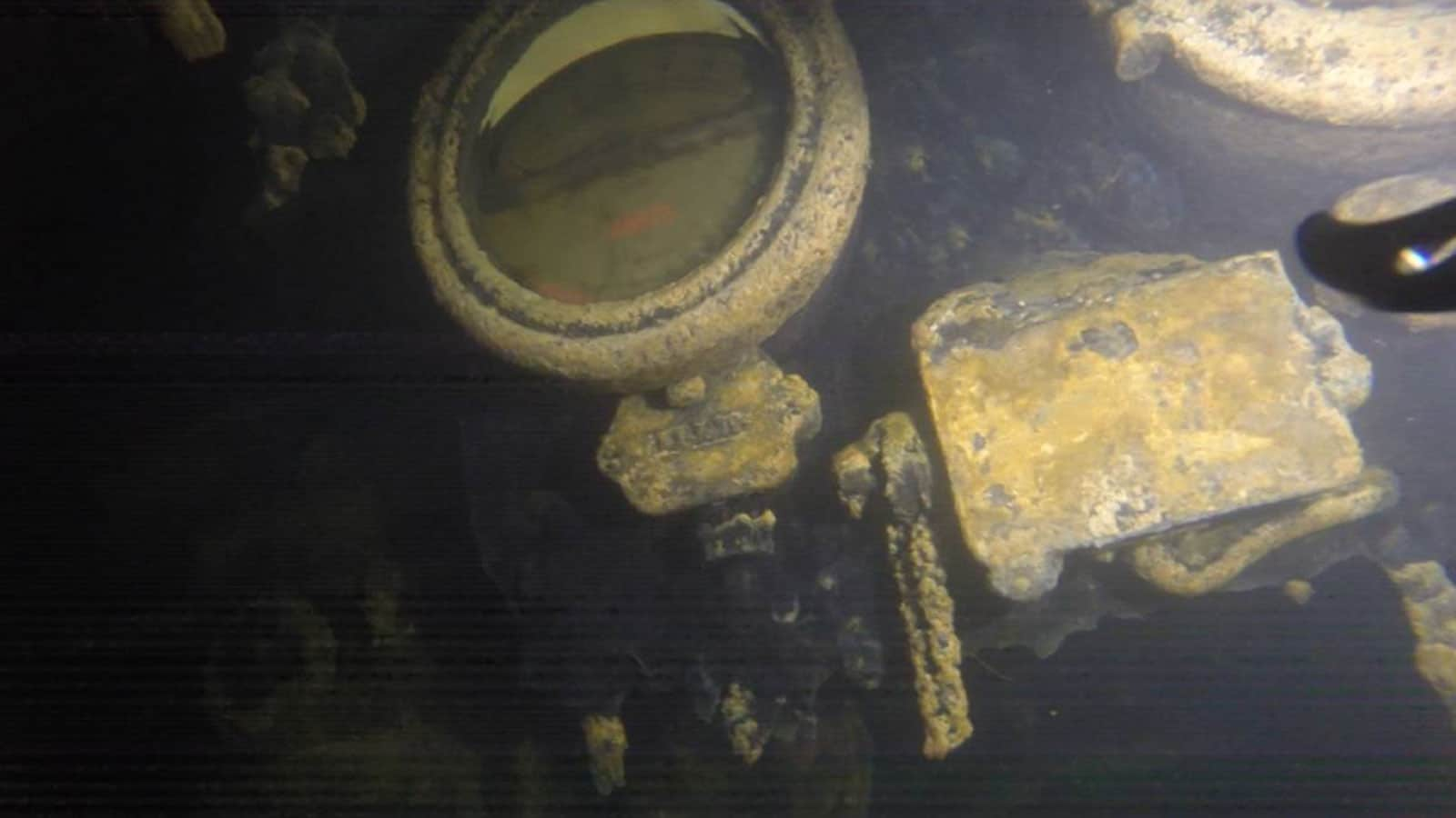 AE2 Australian Submarine Wreck in Marmara
