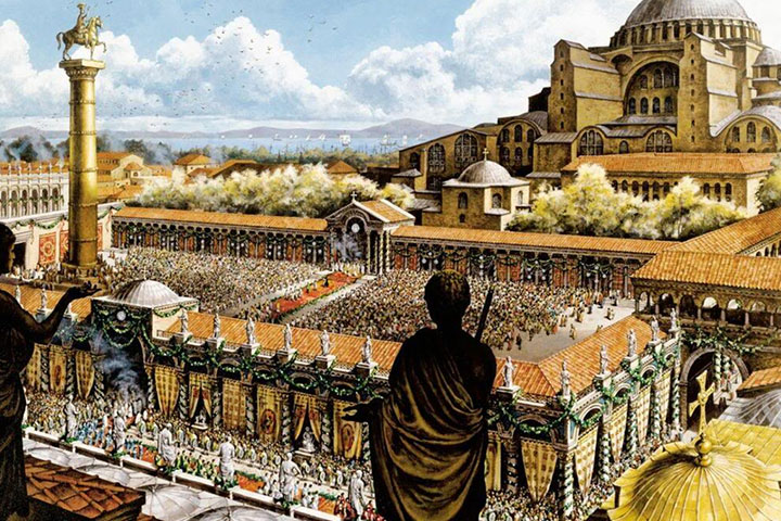 byzantine-empire-hagia-sophia-istanbul
