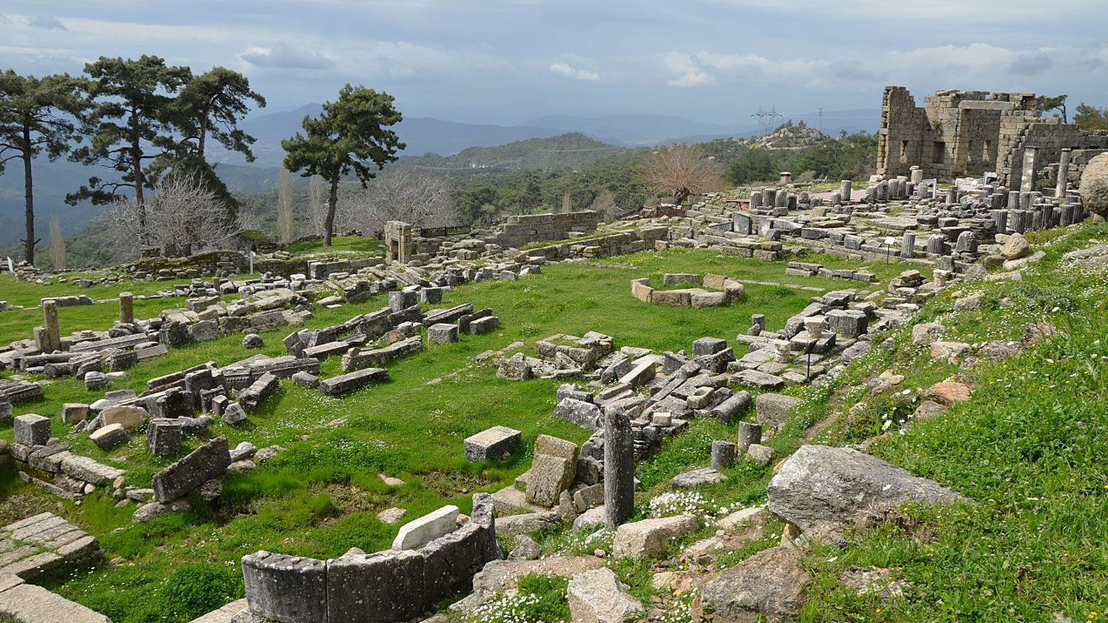 The Temple of Zeus Sanctuary Labraunda