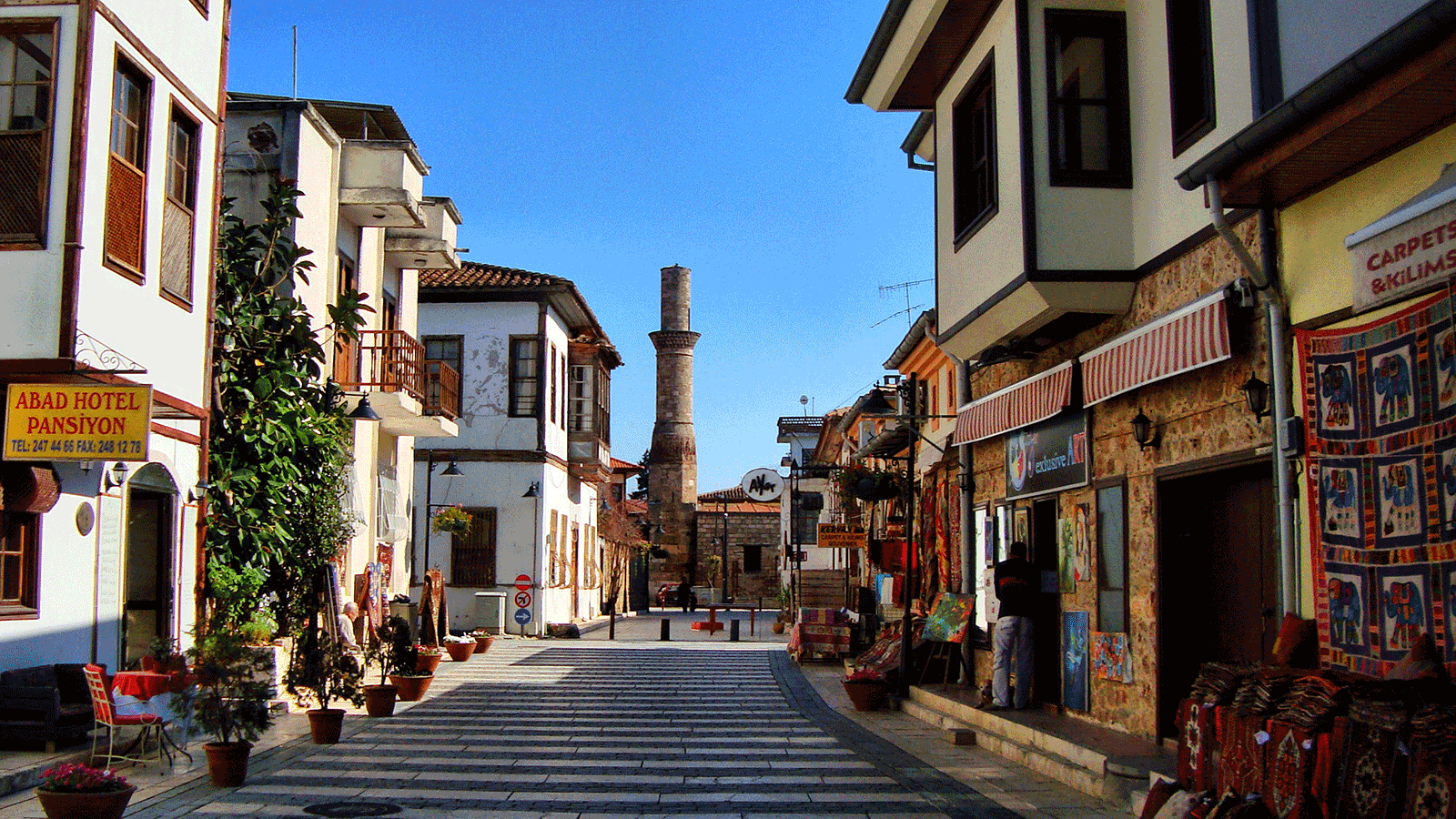 Kaleici Antalya Turkey