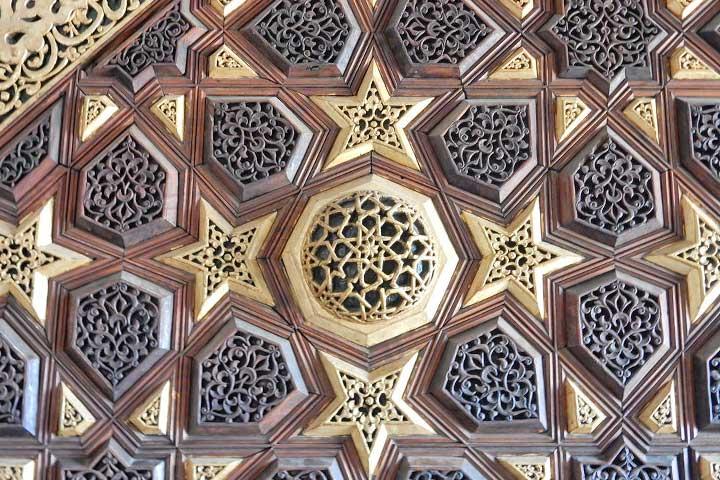 Birgi Mosque Wood Art Pulpit
