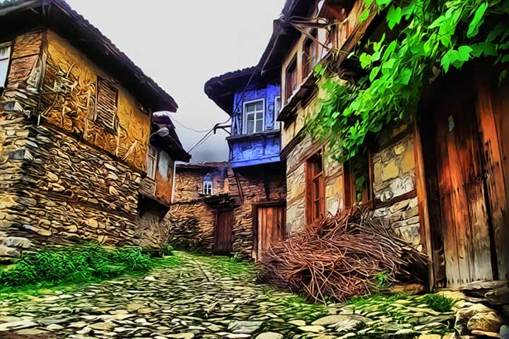 cumalikizik-old-houses
