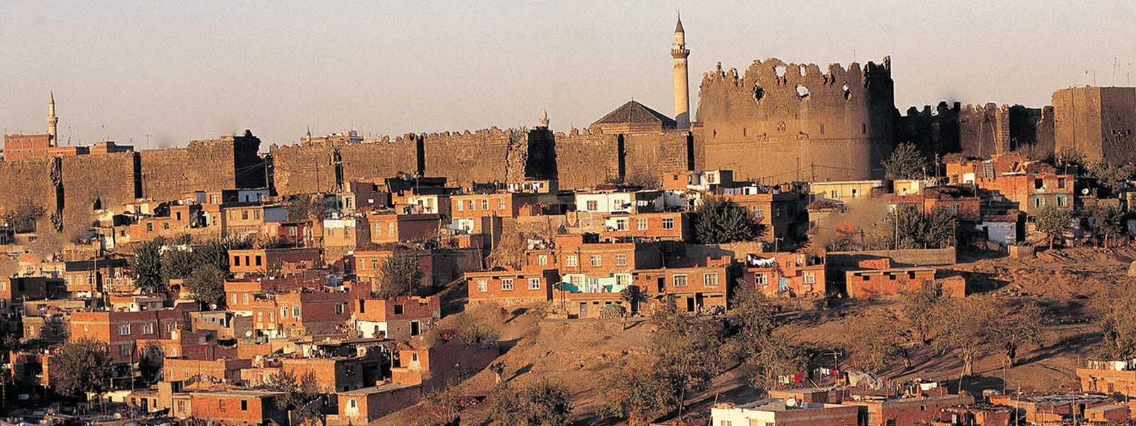 Diyarbakir Fortress in Southeastern Turkey