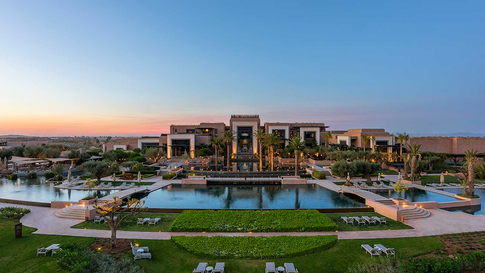 Fairmont Royal Palm Marrakech Main Facade