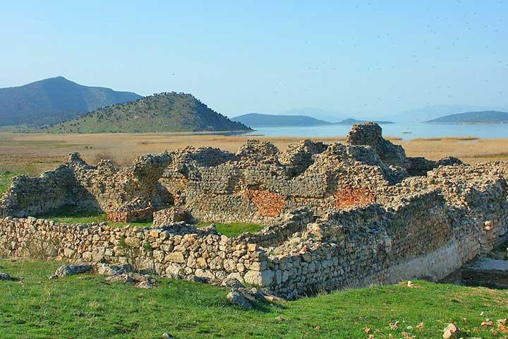 Konya Kubadabad Palace Ruins