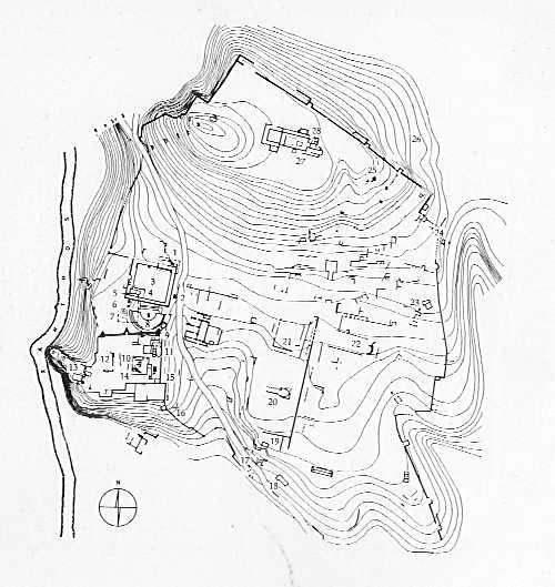 Plan of Xanthos