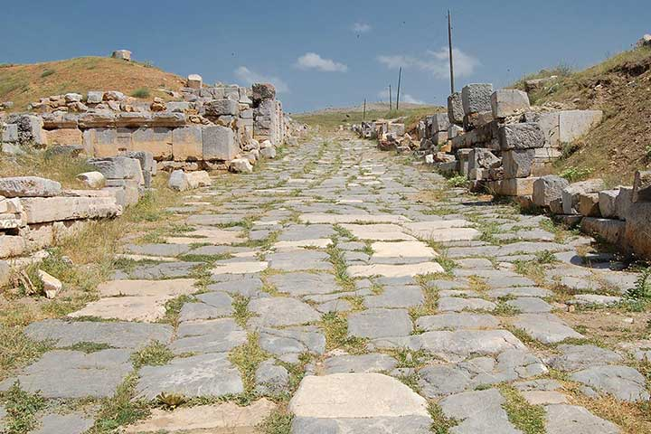 Yalvac Road of Pisidian Antioch