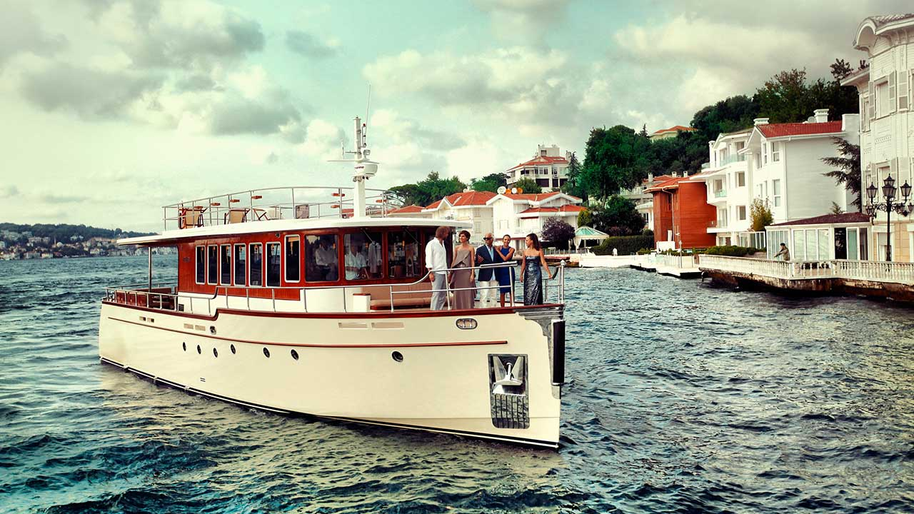 Private Bosphorus Cruise Armada Yacht