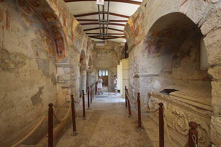 Santa Claus Church Interior