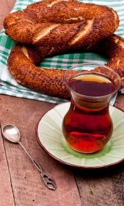 Simit and Tea