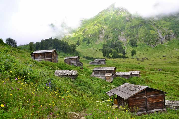 Karcal Macahel Mountains Black Sea