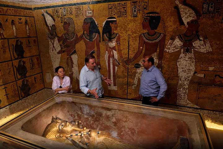 Secret Room King Tut Ankh Amon Tomb