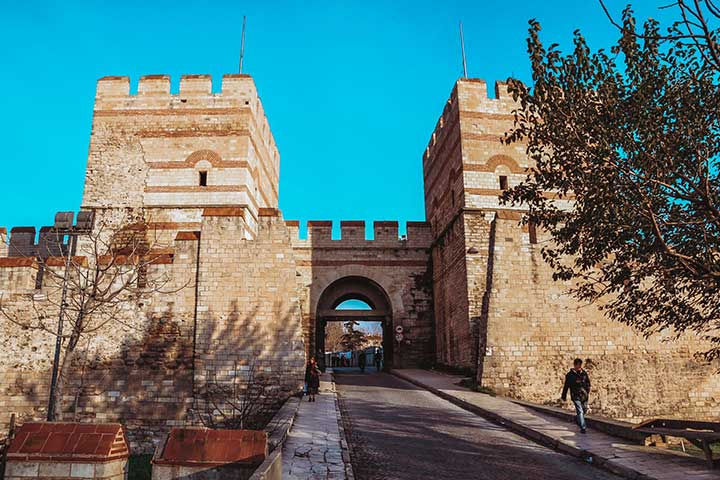 Belgrad Gate Walls of Istanbul