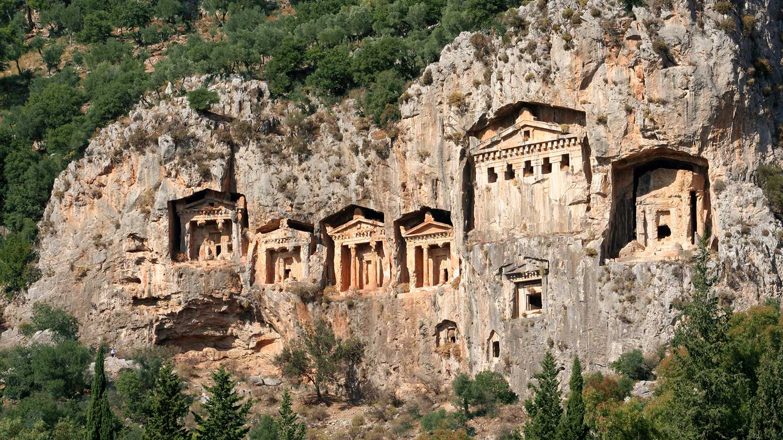Lycia's Rock Tombs