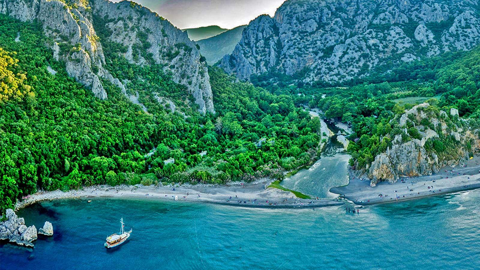 Olympos Beach, Antalya