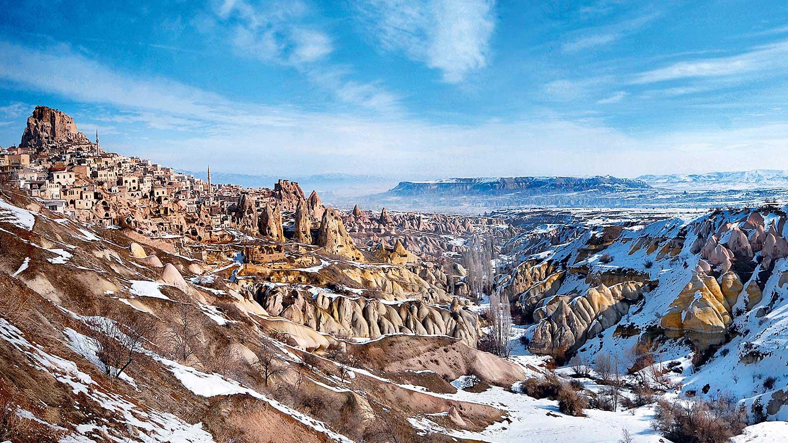 Cappadocia Under Snow