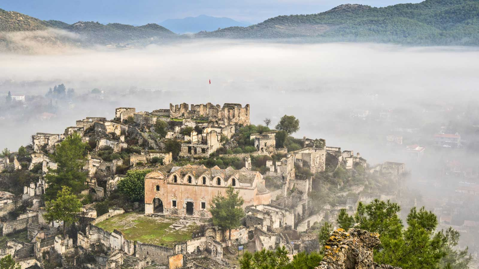 The Ghost Town of Kayakoy, Fethiye