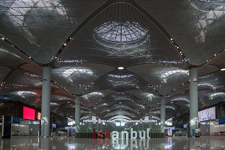 Istanbul New Airport Domes
