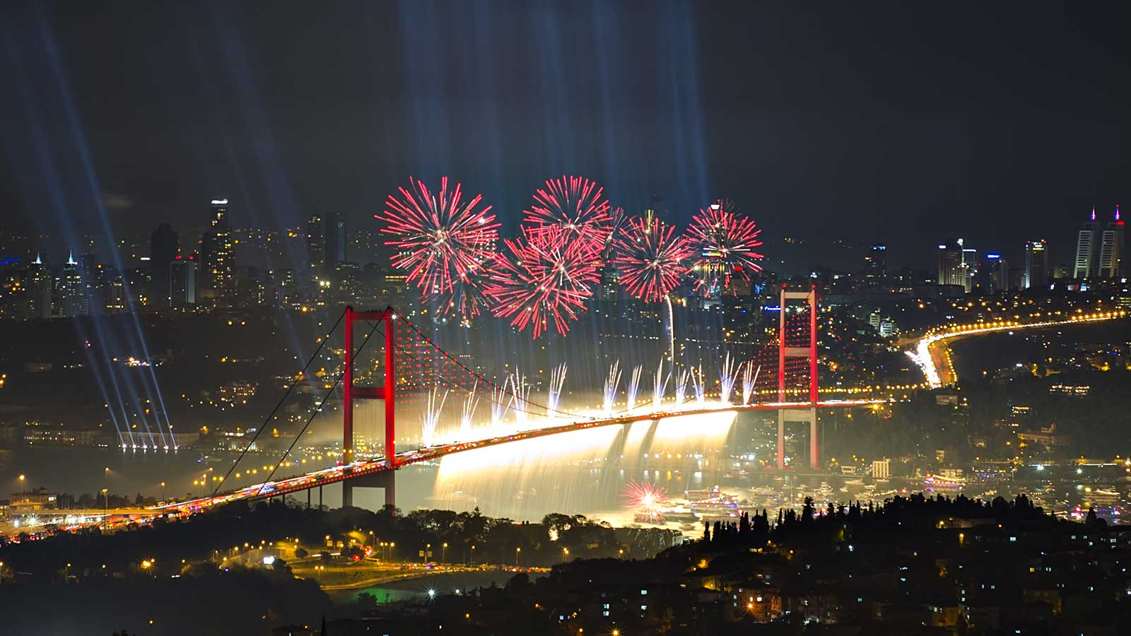 Top Places to Celebrate The New Year's Eve in Istanbul