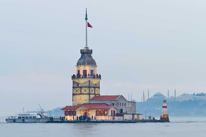 Towers of Istanbul: Maiden's Tower