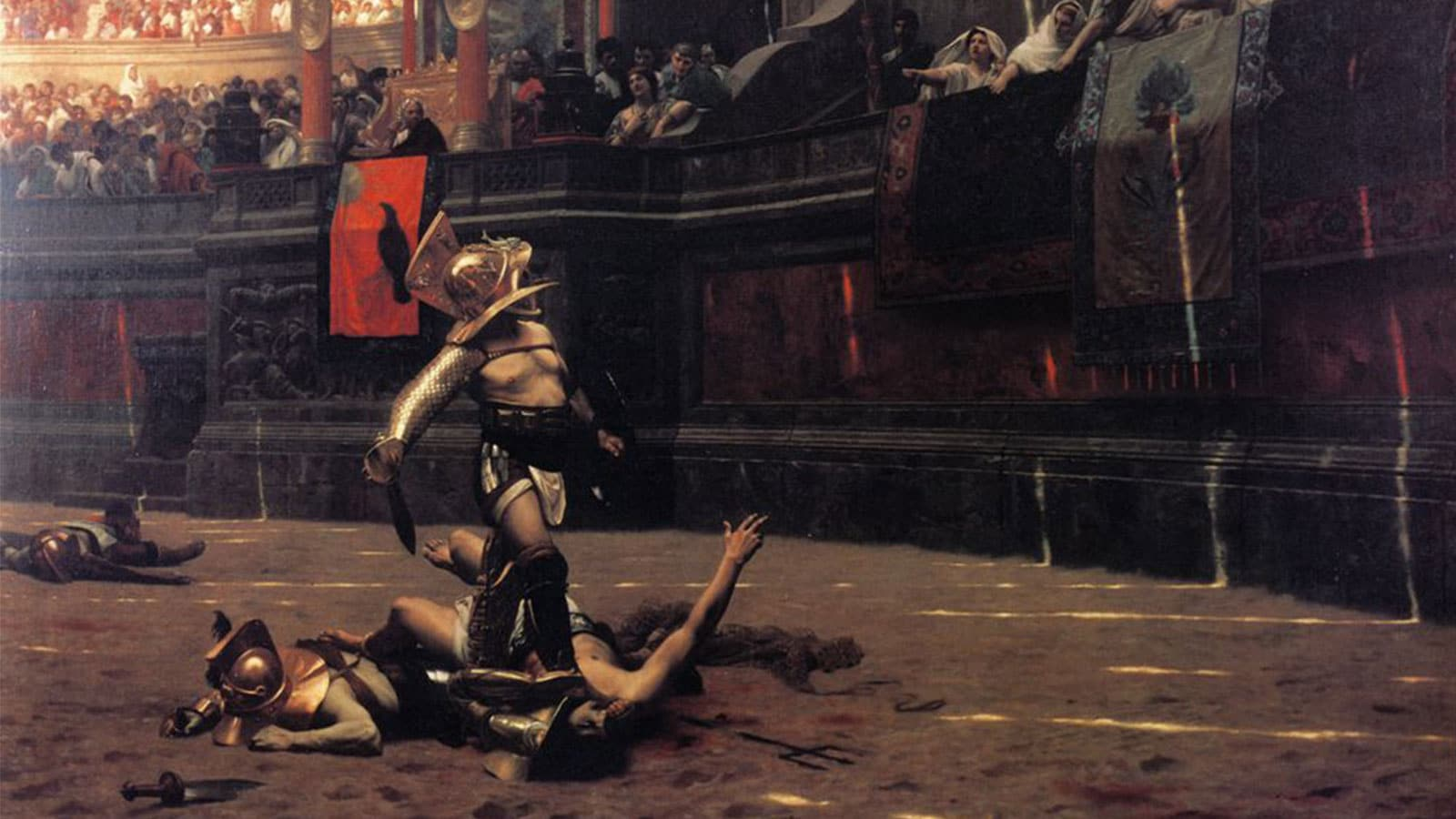 Tragic Heroes of The Arena: Gladiators