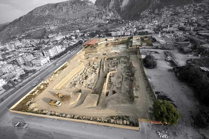 Antakya Mosaic Hotel History Area