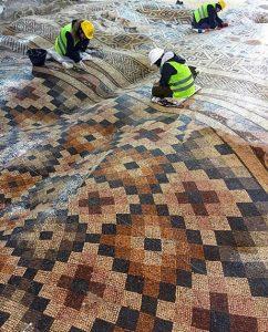Antakya Mosaic Hotel Size Piece