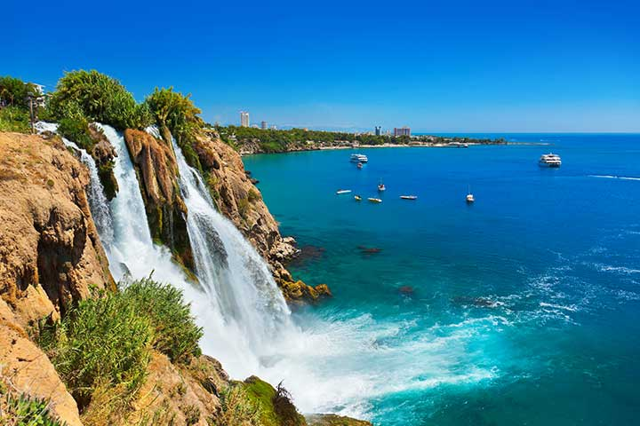 Antalya Duden Waterfall Boat Trip