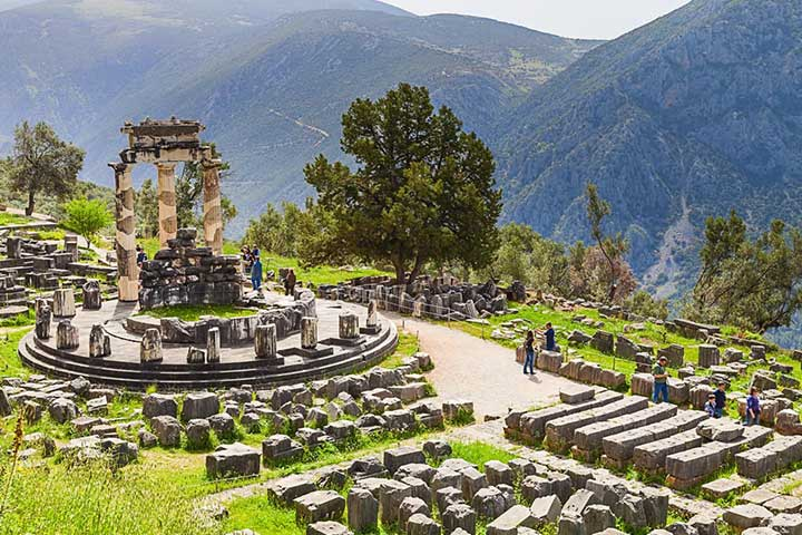 Best Places Delphi Greece