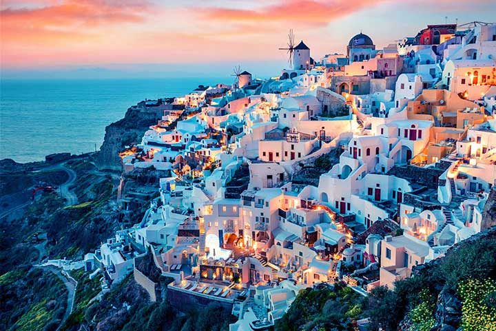 Best Places Santorini Greece