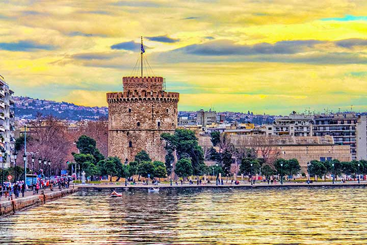 Best Places Thessaloniki Greece