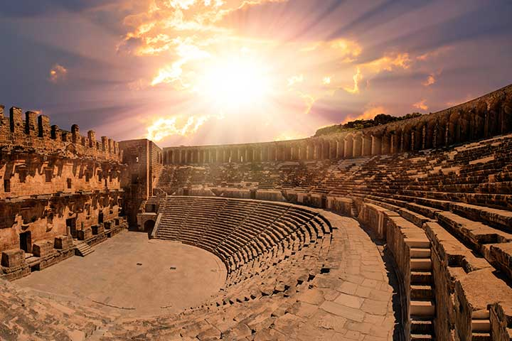 City of Aspendos Turkey