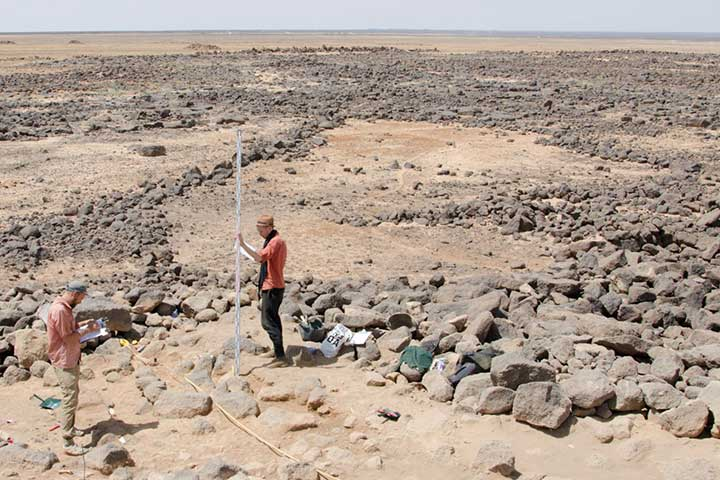 Excavations at the Neolithic site of Shubayqa in the Black Desert of Jordan
