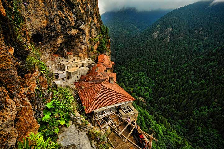 Highlights of Sumela Monastery