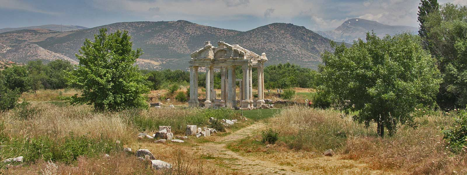 The Temple of Aphrodite, Aphrodisias, Turkey
