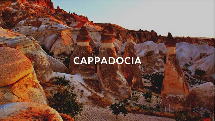 Top Destinations Cappadocia Cover