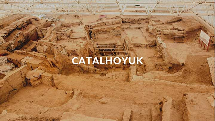 Top Destinations Catalhoyuk Cover