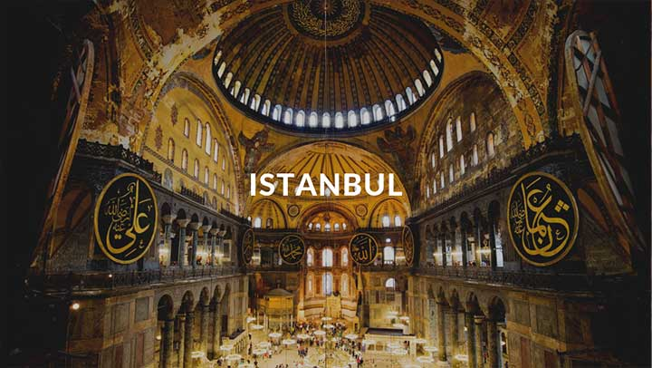 Top Destinations Istanbul Cover