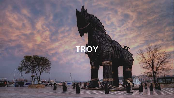 Top Destinations Troy Cover